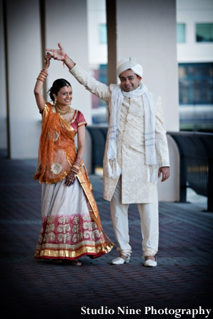 Indian-wedding-couple-first-look-portrait-session