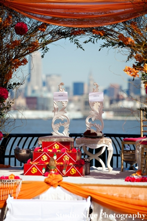 Indian-wedding-outdoor-ceremony-by-water