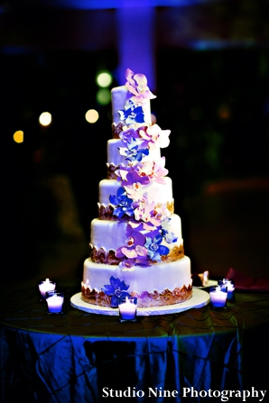 Indian-wedding-reception-cake-tiered