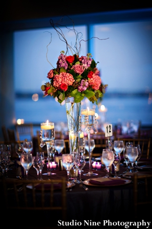 Indian-wedding-reception-table-setting-floral