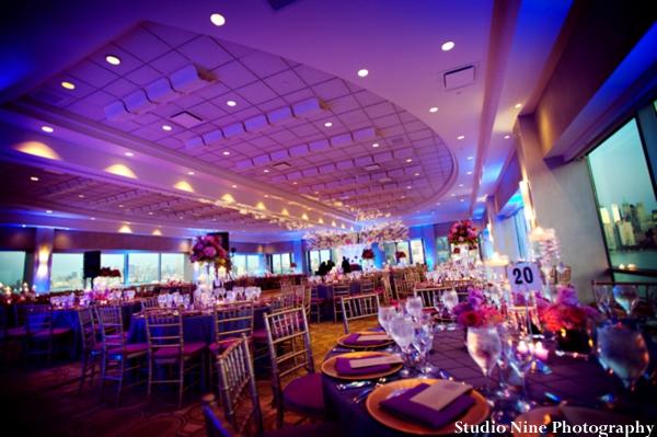 Indian-wedding-reception-venue-lighting