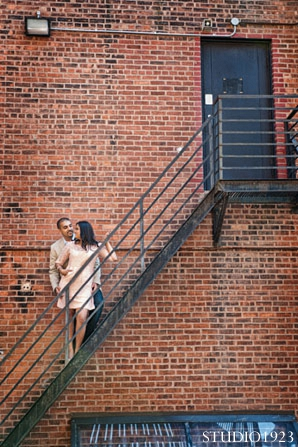 Indian engagement wedding photos outdoor in Sunday Sweetheart Winners  ~ Kavita & Samit by STUDIO1923