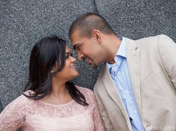 Indian-wedding-engagement-portraits in Sunday Sweetheart Winners  ~ Kavita & Samit by STUDIO1923