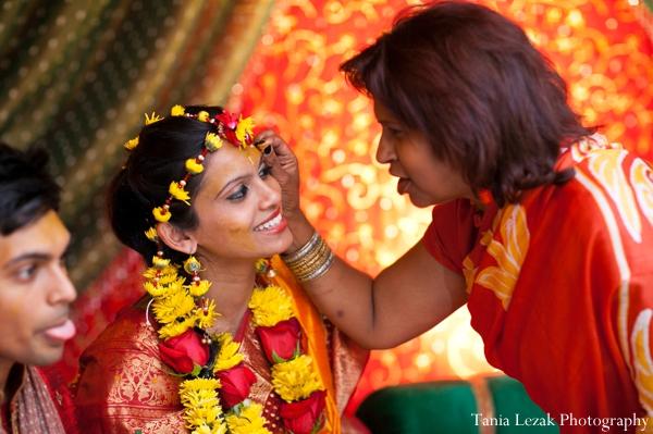 Indian-wedding-gaye-holud-bride