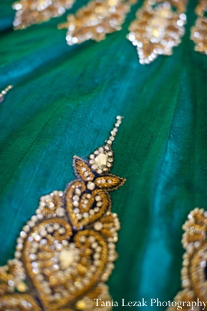 Indian-wedding-getting-ready-gold-detail-lengha