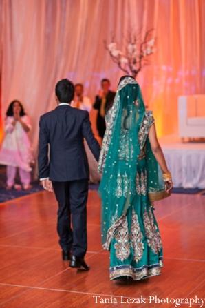 Indian-wedding-reception-bride-groom-dance-floor