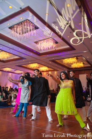 Indian-wedding-reception-dance-floor