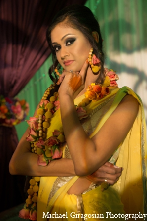 Indian-bridal-floral-jewelry in tAnirika by Suhaag Garden: Extraordinary Floral Jewelry