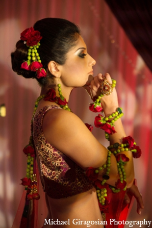 Indian-bride-jewelry-accessories in tAnirika by Suhaag Garden: Extraordinary Floral Jewelry