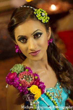 Indian-wedding-bridal-accessories in tAnirika by Suhaag Garden: Extraordinary Floral Jewelry