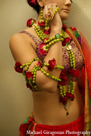 Jewelry-indian-brides in tAnirika by Suhaag Garden: Extraordinary Floral Jewelry