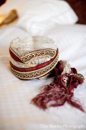 Indian wedding groom traditional dress in Jersey City, New Jersey Indian Wedding by Tara Sharma Photography