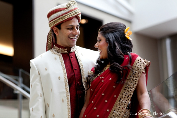 indian wedding bride groom couple portraits