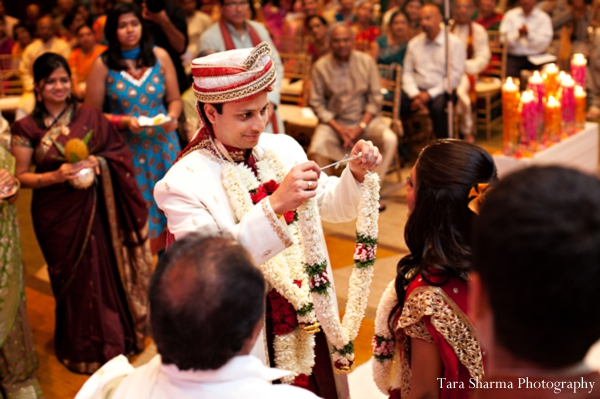 Indian wedding traditional ceremony in Jersey City, New Jersey Indian Wedding by Tara Sharma Photography