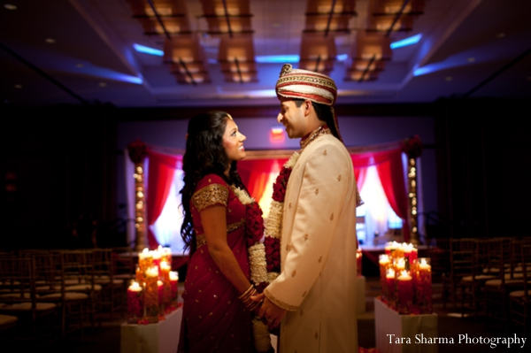 indian wedding ceremony,customs and rituals,traditional wedding ceremony,ceremony traditions,Tara Sharma Photography,bride and groom at the ceremony