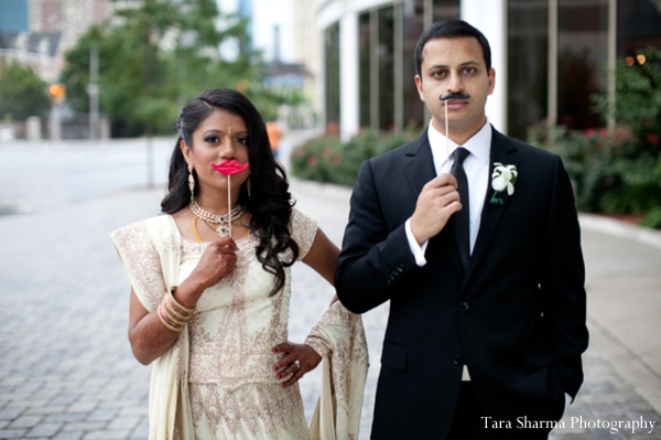 cream,black,portraits,indian wedding couple,bride and groom portrait,indian wedding portraits,couple portraits,reception attire portrait,Tara Sharma Photography