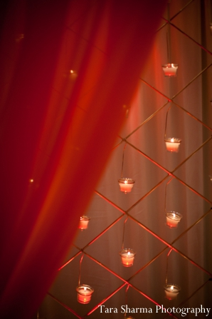 Featured Indian Weddings,gold,Planning & Design,reception lighting,indian wedding reception,Tara Sharma Photography,reception candle lighting,wedding reception candles