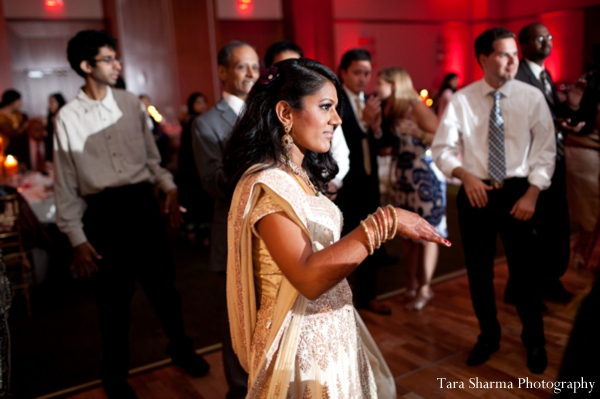 Indian wedding bride dance reception in Jersey City, New Jersey Indian Wedding by Tara Sharma Photography