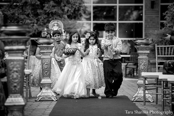 Indian wedding portraits groom bride black white in Princeton, NJ Indian Wedding by Tara Sharma Photography