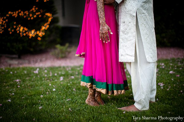 Indian-wedding-sangeet-bride-groom in Princeton, NJ Indian Wedding by Tara Sharma Photography