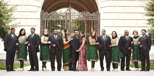 Indian-wedding-bridal-party-indian-bride-groom-bridesmaids-groomsmen
