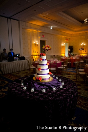 Indian wedding cake decor photography in Durham, North Carolina Indian Wedding by The Studio B Photography