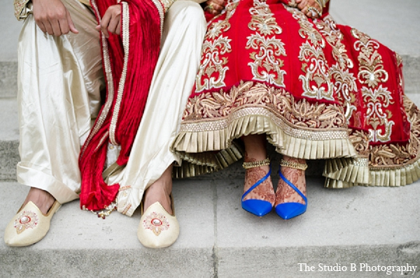 Indian wedding groom bride photography in Durham, North Carolina Indian Wedding by The Studio B Photography