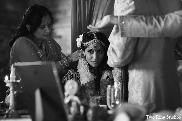 Indian wedding ceremony bride traditions in Asheville, North Carolina Indian Wedding by Two Ring Studios