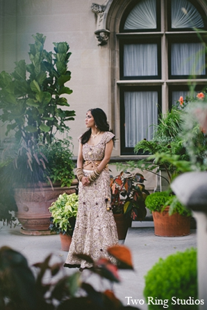 Indian wedding photography venue bride in Asheville, North Carolina Indian Wedding by Two Ring Studios