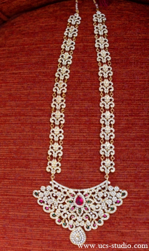 Indian-wedding-bridal-necklace-diamond-ruby