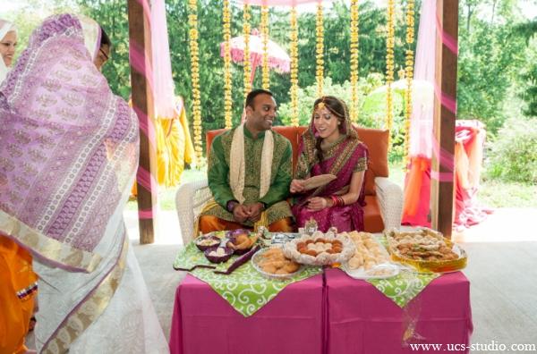 Indian-wedding-bride-groom-fusion-gaye-holud-ideas