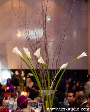Indian-wedding-floral-decor-tall-vase-whit