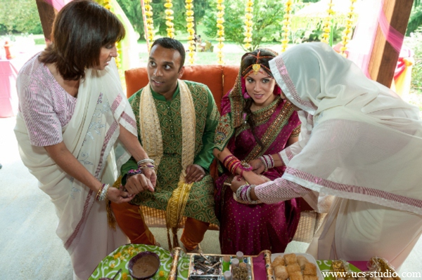 Indian-wedding-fusion-gaye-holud-colorful-tradtional-rituals