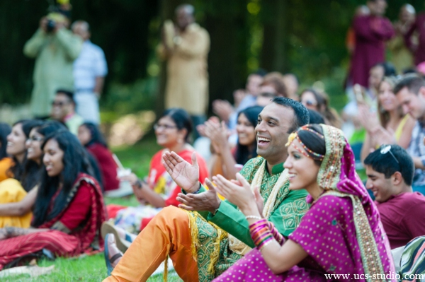 Indian-wedding-gaye-holud-outdoor-picnic