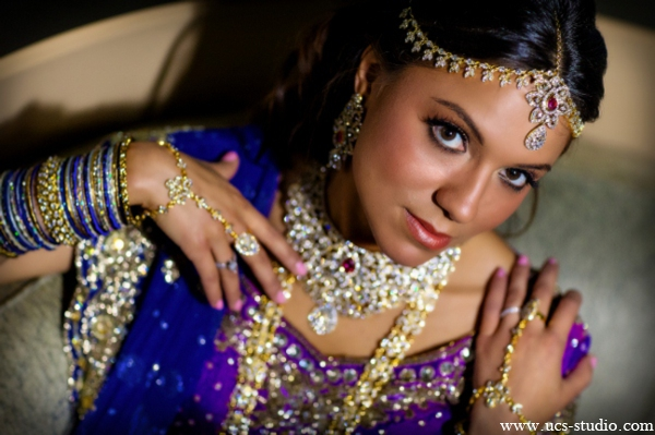Indian-wedding-lengha-fusion-for-reception-dark-purple