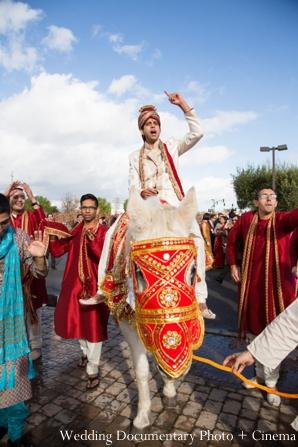 Indian-wedding-baraat-groom-guests-horse