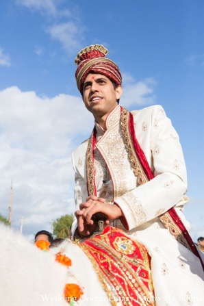 Indian-wedding-baraat-groom-horseback