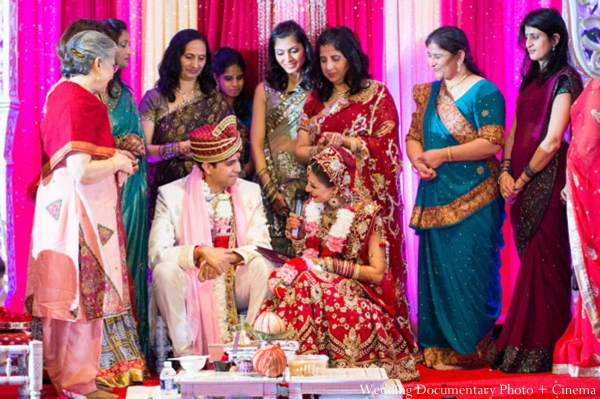 Indian-wedding-ceremony-bride-family-groom-customs