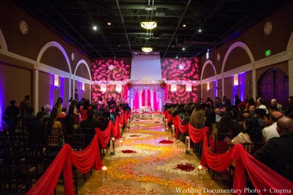 Indian-wedding-ceremony-decor-lighting