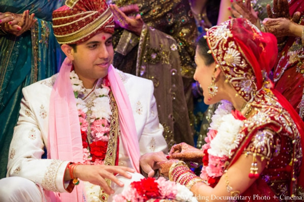 Indian-wedding-ceremony-detail-bride-groom-family