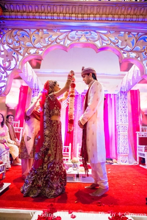 Indian-wedding-ceremony-groom-bride