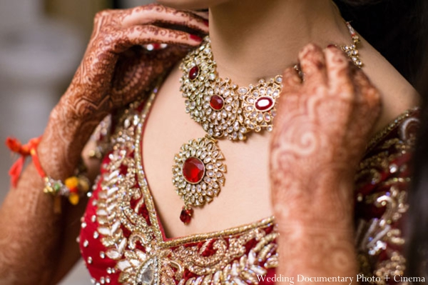 Indian-wedding-getting-ready-bride-necklace