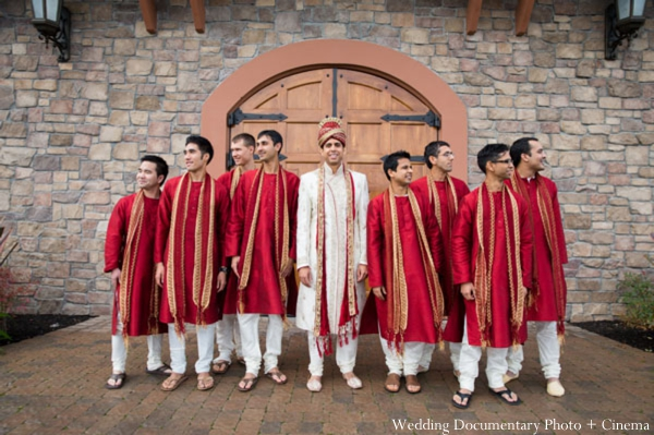 Indian-wedding-portrait-groom-groomsmen