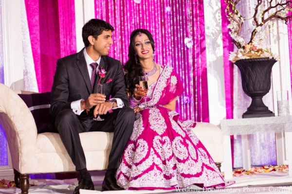 Indian-wedding-reception-bride-groom-decor