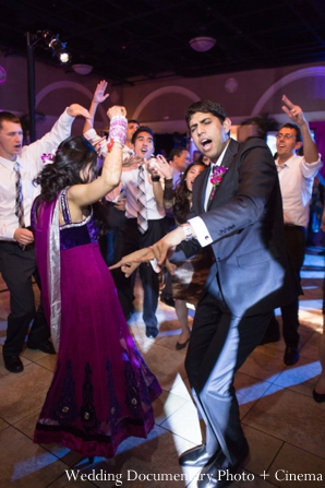 Indian-wedding-reception-bride-groom-party-dancing