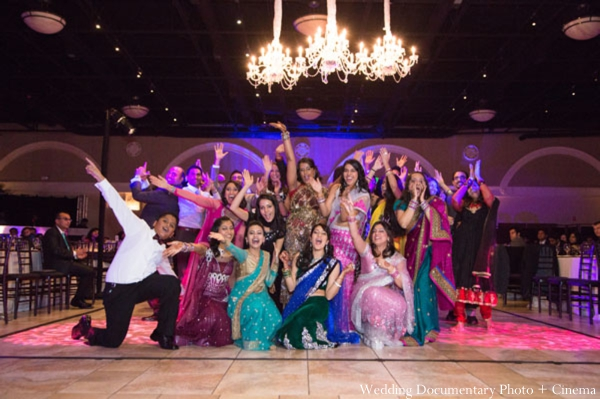 Indian-wedding-reception-dancing-party