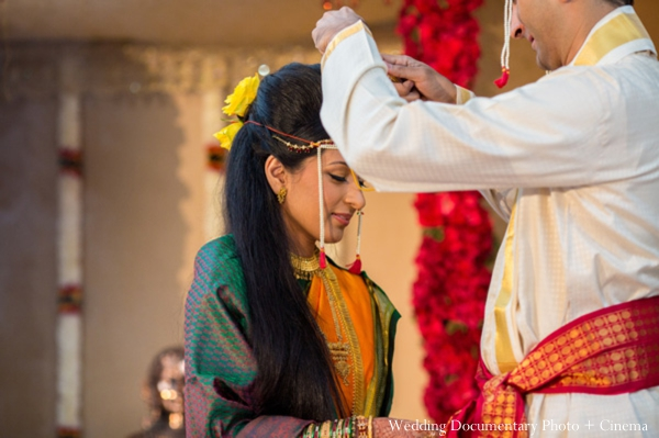 Indian wedding ceremony bride customs
