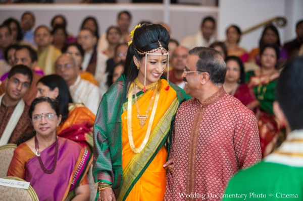 Indian wedding ceremony father bride
