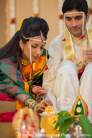 Indian wedding ceremony groom bride customs