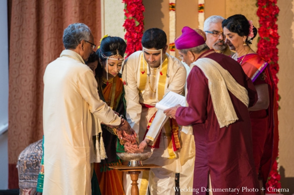 Indian wedding ceremony groom bride rituals